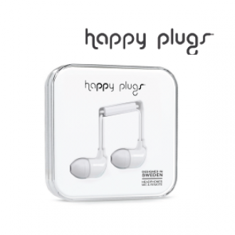Happy Plugs In-Ear - White